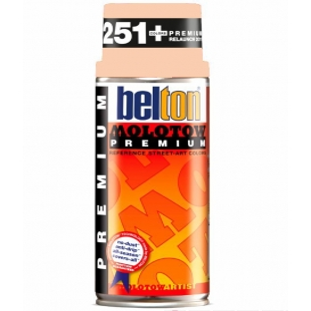 Molotow Belton Sprey Boya 023-Peach Pastel 400 ml