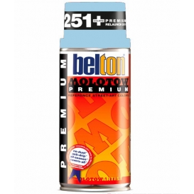 Molotow Belton Sprey Boya 091-Shock Blue Pastel 400 ml