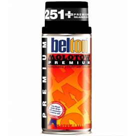 Molotow Belton Sprey Boya 221-Deep Black 400 ml