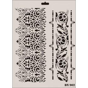 Rich Dantel Seri DN-902 Stencil 35x25cm
