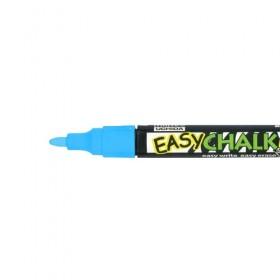Marvy Easy Chalk Marker - Floresan Mavi - Sıvı Tebeşir Kalemi