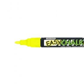 Marvy Easy Chalk Marker -Floresan Sarı- Sıvı Tebeşir Kalemi