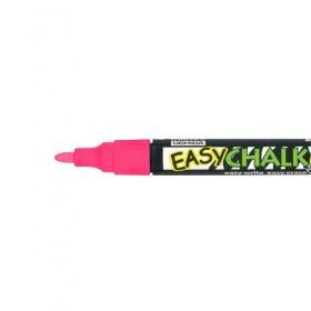 Marvy Easy Chalk Marker - Floresan Kırmızı - Sıvı Tebeşir Kalemi