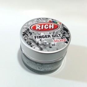 Rich Parmak Yaldız gümüş