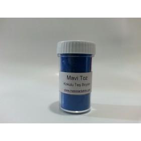 Mavi Toz Kokulu Taş Boyası
