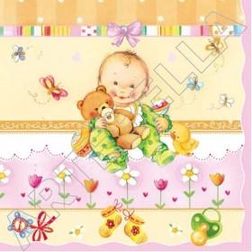 Maki Peçete Slog-012302 Özel Desen 33x33