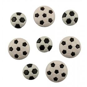 Dekoratif Düğme 8'li Futbol Topları 4069