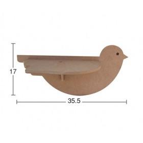 Kuş Model Raf ORTA Boy (Demonte)