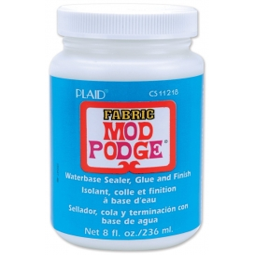 Plaid 11218 Mod Podge Fabric Kumaşı Aplike Tutkalı 236 ml(8oz)