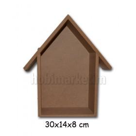 Ev Model Raf Bibloluk 30x14x8 cm