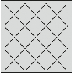 L058 Stencil 20x24 cm