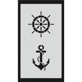 S081 Stencil 9x16 cm