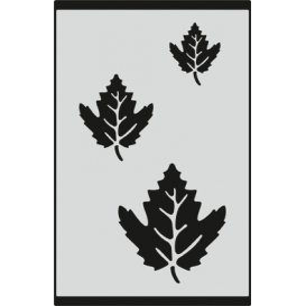 S082 Stencil 9x16 cm