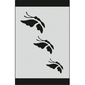 S083 Stencil 9x16 cm