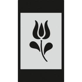 S084 Stencil 9x16 cm