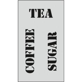 S085 Stencil 9x16 cm