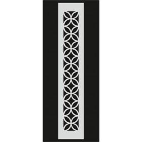 U075 Stencil 10x25 cm