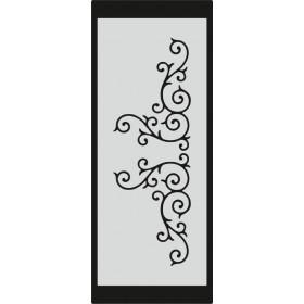 U077 Stencil 10x25 cm