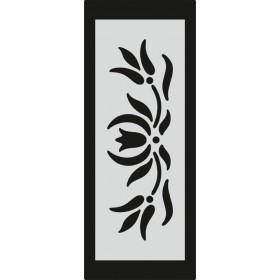 U078 Stencil 10x25 cm