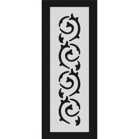 U082 Stencil 10x25 cm