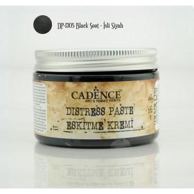 Cadence Distress Paste/Eskitme Kremi DP-1305 İsli Siyah 150 ml