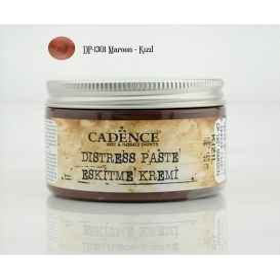 Cadence Distress Paste/Eskitme Kremi DP-1301 MAROON-KIZIL_150 ml