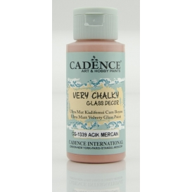 Cadence Very Chalky Glass CG-1339- Açık Mercan-Light Coral 59 ml
