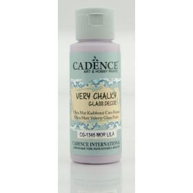 Cadence Very Chalky Glass CG-1345 Mor Lila - Purple Lilac 59 ml