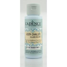 Cadence Very Chalky Glass CG-1352 Bebek Mavi-Baby Blue 59 ml