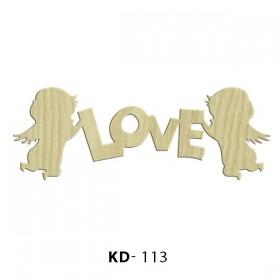 Eros Love Paket Süs Ahşap Obje KD-113