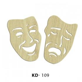 Gülermisin Ağlarmısın  Paket Süs Ahşap Obje KD-109