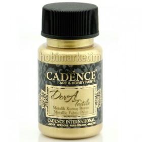 Cadence Dora Tekstil Metalik Kumaş Boyası 1148 B.Altın-White Gold