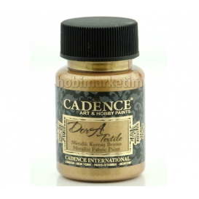 Cadence Dora Tekstil Metalik Kumaş Boyası 1150 Antik Altın