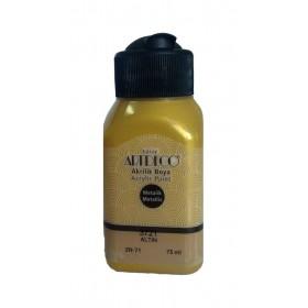 3721 ALTIN Artdeco Metalik Akrilik Boya 75 ml