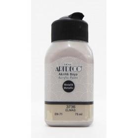 3736 ELMAS Artdeco Metalik Akrilik Boya 75 ml