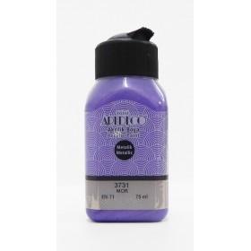 3731 MOR Artdeco Metalik Akrilik Boya 75 ml