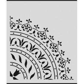 H001 Dantel Stencil 25x25