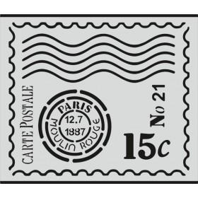 Y013 Stencil Şablon 35cm x 30cm