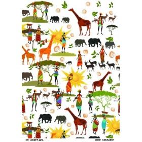 Ms Craft Dekupaj 35x50 LSD 209