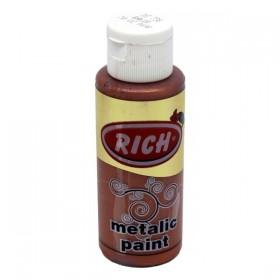 Rich 736 Metalik Bakır 70 ml Metalik Ahşap Boyası