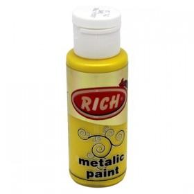 Rich 742 Metalik Sarı 70 ml Metalik Ahşap Boyası