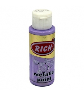Rich 748 Metalik Lila 70 ml Metalik Ahşap Boyası