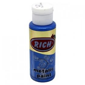 Rich 752 Metalik Mavi 70 ml Metalik Ahşap Boyası