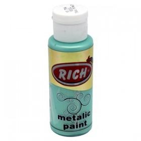 Rich 754 Metalik Yeşil 70 ml Metalik Ahşap Boyası