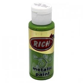 Rich 756 Metalik Fıstık Yeşili 70 ml Metalik Ahşap Boyası