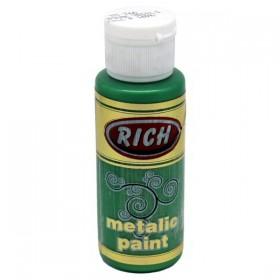 Rich 766 Yaprak Yeşili 70 ml Metalik Ahşap Boyası