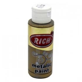 Rich 772 Metalik Koyu Altın 70 ml Metalik Ahşap Boyası
