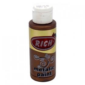Rich 774 Metalik Açık Kahve 70 ml Metalik Ahşap Boyası