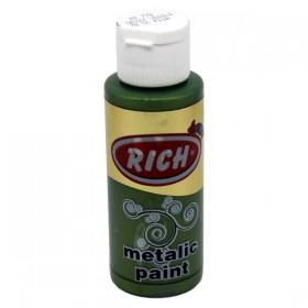 Rich 778 Metalik Ceviz Yeşili 70 ml Metalik Ahşap Boyası
