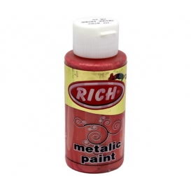 Rich 782 Metalik Şeker Pembe 70 ml Metalik Ahşap Boyası